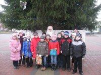 В гостях у редакционного Деда Мороза побывали школьники