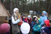 """В лагере """"Голубая волна"""" открылась резиденция лесного хозяина"""