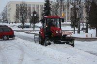 Как службы района справляются со снегом