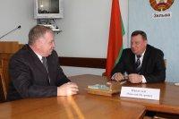 Зельвенский район посетил министр связи и информатизации Республики Беларусь Николай Пантелей