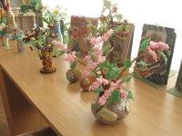 В библиотеке прошла презентация работ жительницы г.п. Зельва Веры Радькович