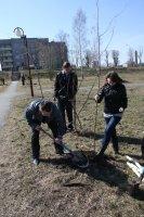 Школьники вносят свой вклад в благоустройство г.п.Зельва и других населенных пунктоов района