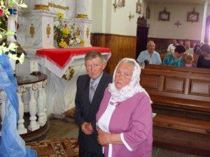 Золотой юбилей отпраздновала семья Заяц из Кремяницкого сельсовета