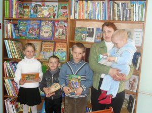 Чтение – семейное хобби