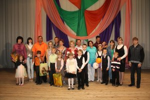 Победителем районного конкурса многодетных семей стала семья Жамойтиных из Зельвы