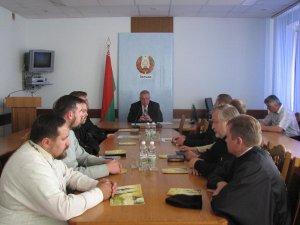 Состоялась встреча председателя райисполкома со священнослужителями района
