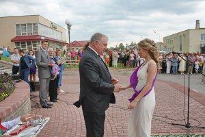 В Зельве состоялся районный бал выпускников