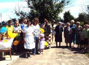 В д.Кошели праздник деревни собрал всех местных жителей