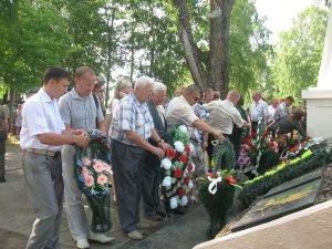 В д.Шауличи почтили память погибших во время Великой Отечественной войны