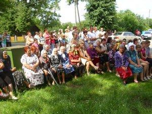 Праздник деревни Теглевичи подарили жителям работники местного СДК