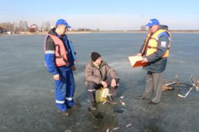 Весенний лед опасен