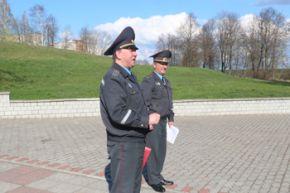Дружинники  в помощь милиционерам